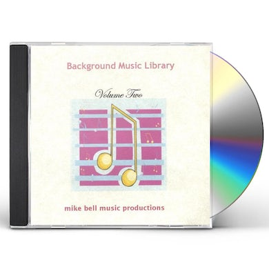 Mike Bell BACKGROUND MUSIC LIBRARY 2 CD