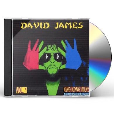 David James KING KONG BLUES/THE RETURN OF ROCK N ROLL 1 CD