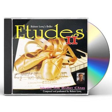 Robert Long BALLET CLASS MUSIC: ETUDES 2 CD