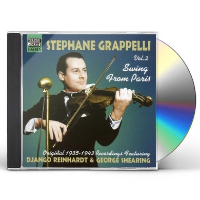 Stephane Grappelli VOL. 2-SWING FROM PARIS CD