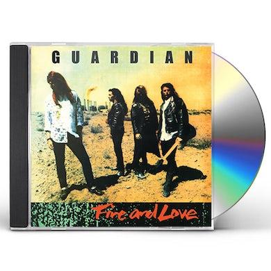 Guardian FIRE & LOVE (LEGENDS REMASTERED) CD