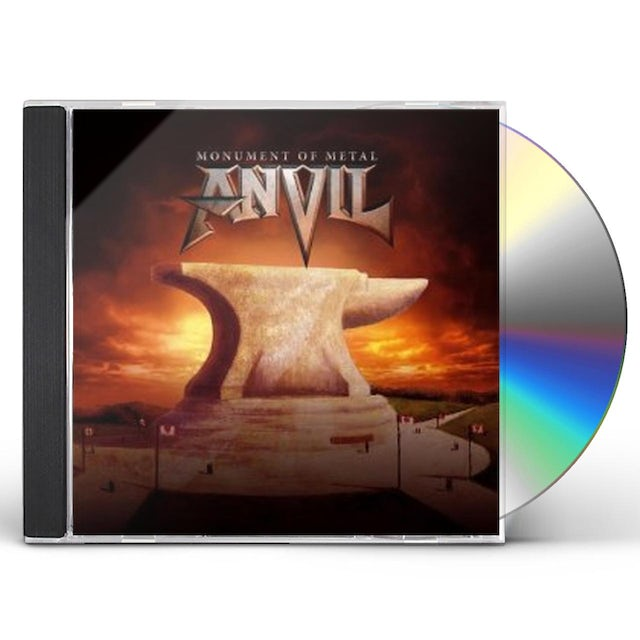 MONUMENT OF METAL: THE VERY BEST OF ANVIL CD
