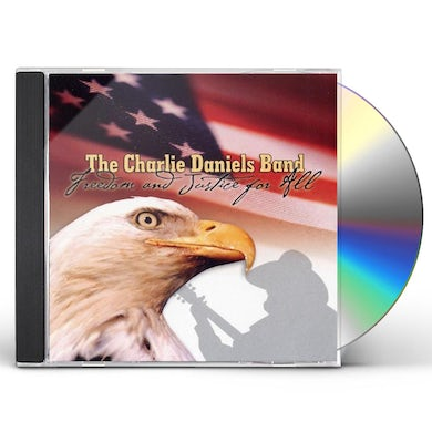 Charlie Daniels FREEDOM & JUSTICE FOR ALL CD