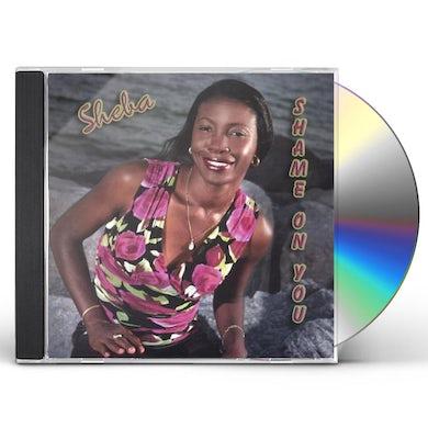 Sheba SHAME ON YOU CD