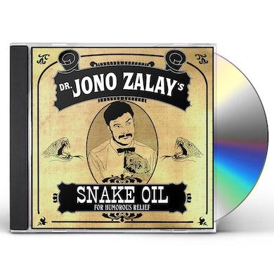 Jono Zalay SNAKE OIL CD
