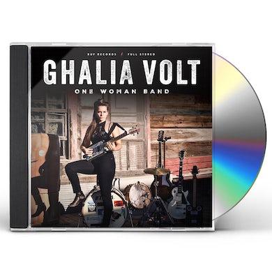 Ghalia Volt ONE WOMAN BAND CD