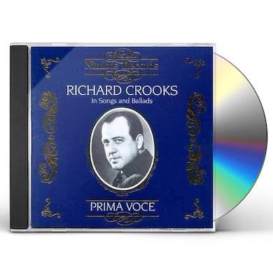 Richard Crooks IN SONGS & BALLADS CD