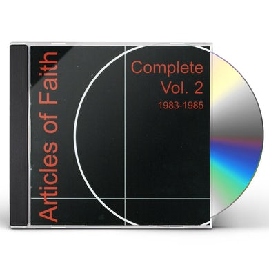 Articles Of Faith COMPLETE 2 1983-1985 CD
