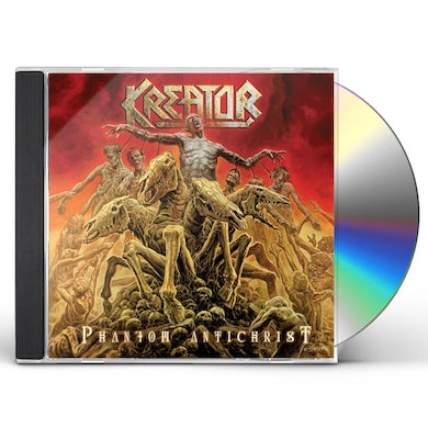 Kreator PHANTOM ANTICHRIST CD