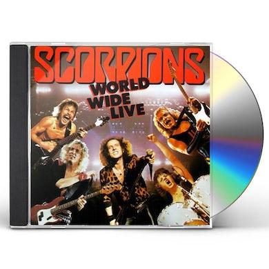 Scorpions WORLD WIDE LIVE CD