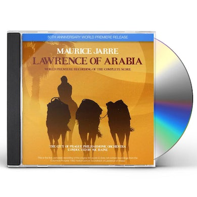 City Of Prague Philharmonic Orchestra LAWRENCE OF ARABIA CD