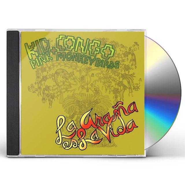 Kid Congo & The Pink Monkey Birds LA ARANA ES LA VIDA CD