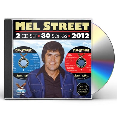 Mel Street 30 SONGS - 2012 CD