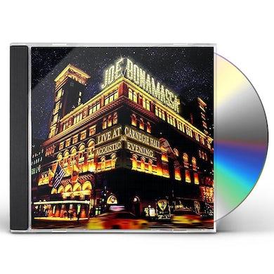 Joe Bonamassa LIVE AT CARNEGIE HALL: AN ACOUSTIC EVENING CD