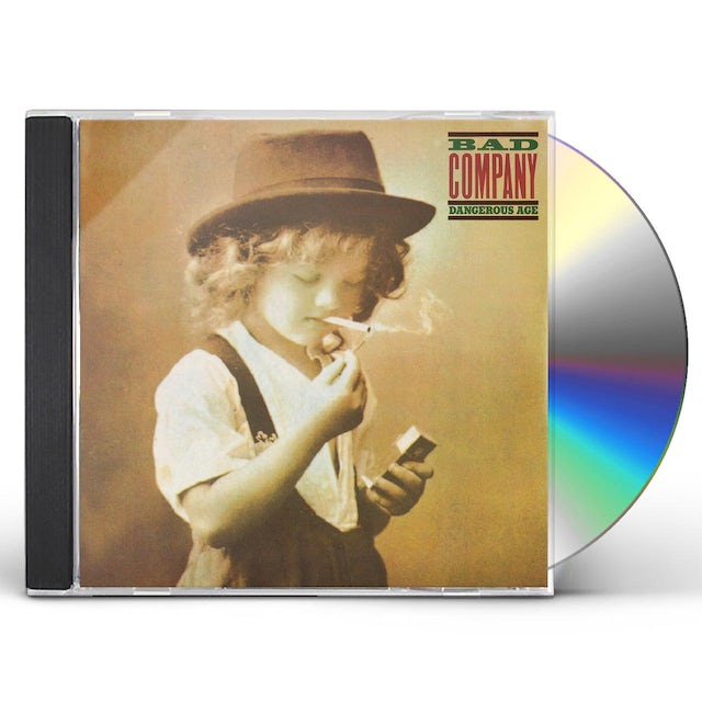 Bad Company DANGEROUS AGE & HOLY WATER CD