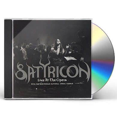 Satyricon LIVE AT THE OPERA CD