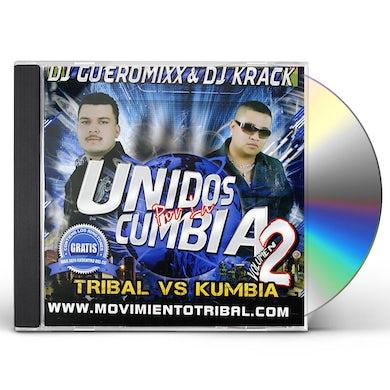 DJ Gueromixx UNIDOS POR LA CUMBIA 2 CD