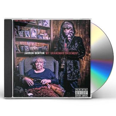Jarren Benton MY GRANDMA'S BASEMENT CD