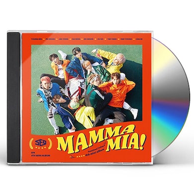 SF9 MAMA MIA CD