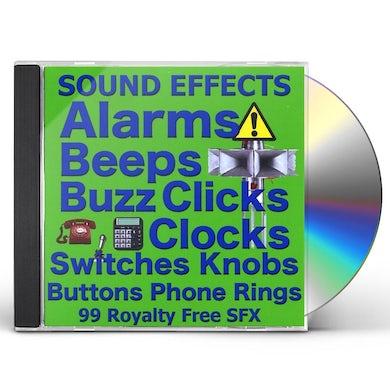 Sound Effects ALARMSBUZZESBUTTONSSWITCHESCLOCKSTELEPHONES RINGIN CD