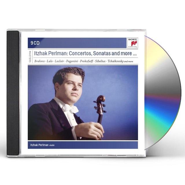 Itzhak Perlman PLAYS CONCERTOS & SONATAS CD
