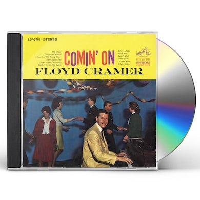 Floyd Cramer COMIN ON CD