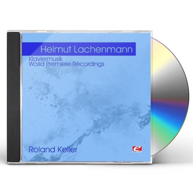 Helmut Lachenmann LACHENMANN: KLAVIERMUSIK CD