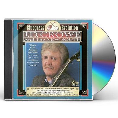 J.D. Crowe BLUEGRASS EVOLUTION CD