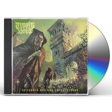 Temple Of Void OF TERROR & THE SUPERNATURAL CD