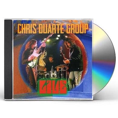 Chris Duarte LIVE CD