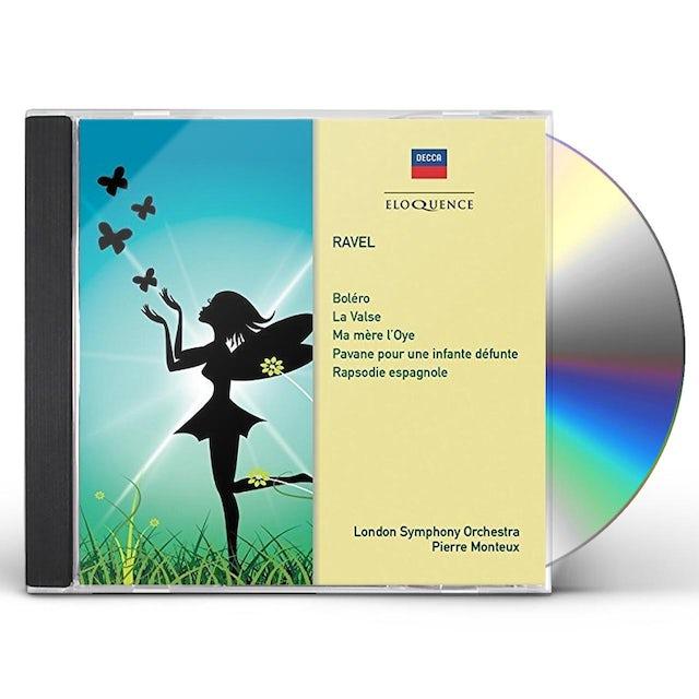 Pierre Monteux RAVEL: MA MERE L'OYE / BOLERO / LA VALSE / PAVANE CD