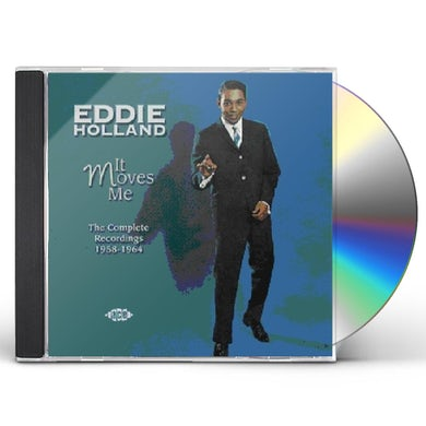 Eddie Holland IT MOVES ME: COMPLETE RECORDINGS 1958 - 1964 CD