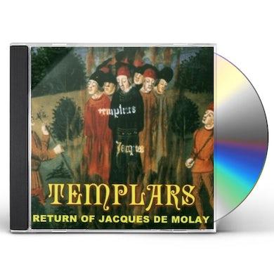 Templars RETURN OF JAQUES DE MOLAY CD
