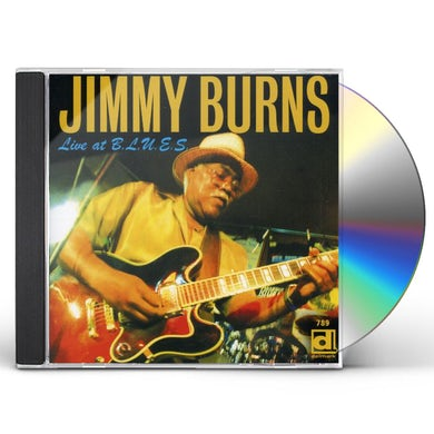 Jimmy Burns LIVE AT BLUES CD