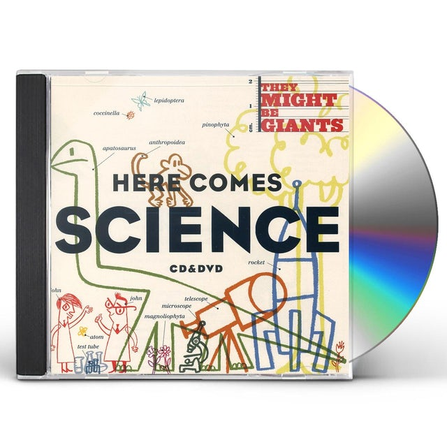 They Might Be Giants HERE COMES SCIENCE CD