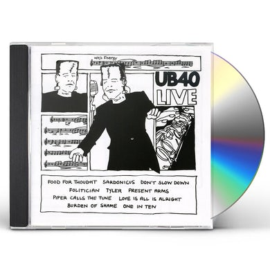 Ub40 LIVE CD