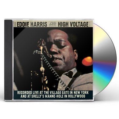 Eddie Harris HIGH VOLTAGE CD