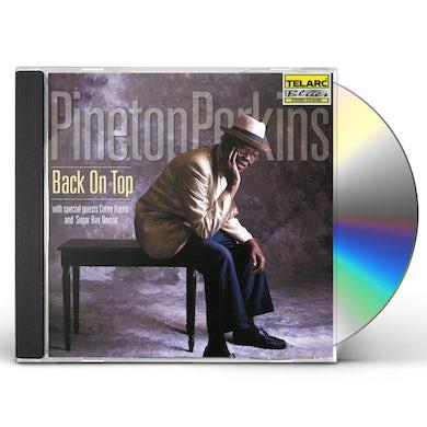 Pinetop Perkins BACK ON TOP CD