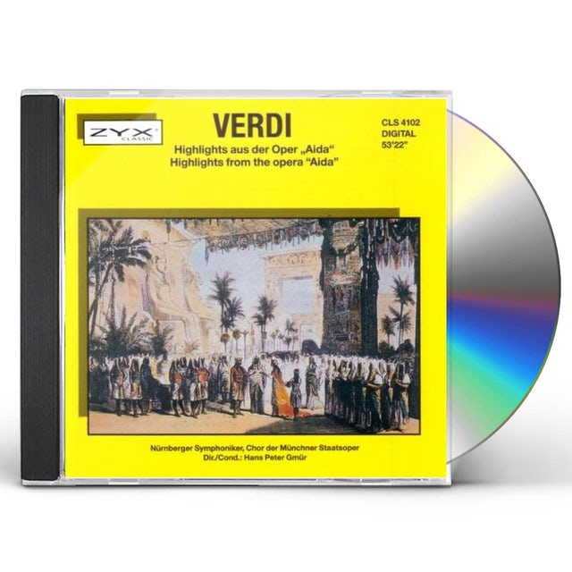 Verdi AIDA HIGHLIGHTS CD