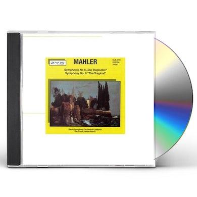 "Gustav Mahler SYMPHONY 6 ""THE TRAGIC"" CD"