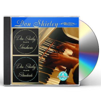 Don Shirley PLAYS GERSHWIN / PLAYS STANDARDS CD