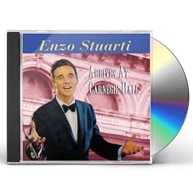 Enzo Stuarti ARRIVES AT CARNEGIE HALL CD