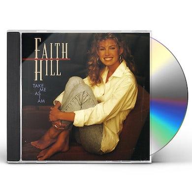 Faith Hill TAKE ME AS I AM CD