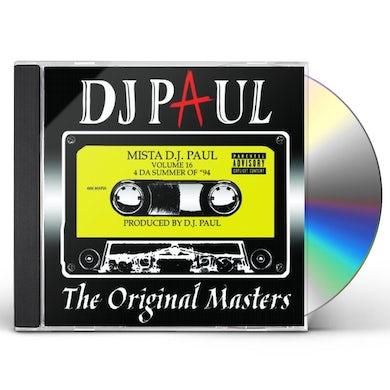 DJ Paul ORIGINAL MASTERS: 16 CD