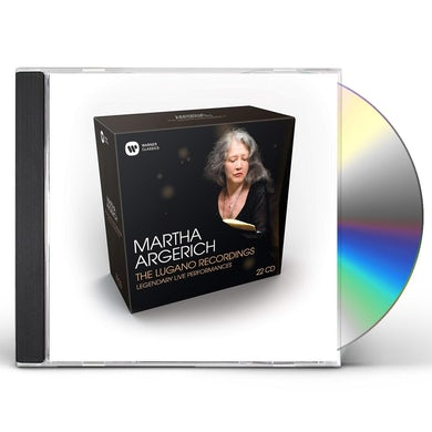 Martha Argerich LUGANO RECORDINGS CD