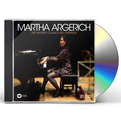 Martha Argerich WARNER CLASSICS RECORDINGS CD