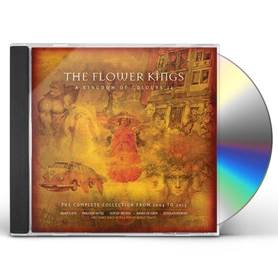 The Flower Kings KINGDOM OF COLOURS II (2004-2013) CD