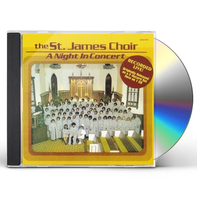 St James Choir NIGHT IN CONCERT CD