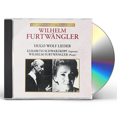 Elisabeth Schwarzkopf & FURTWANGLER-HUGO WOLF LIEDER CD