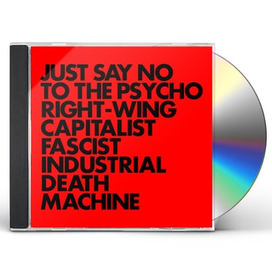 Gnod JUST SAY NO TO THE PSYCHO RIGHT-WING CAPITALIST CD